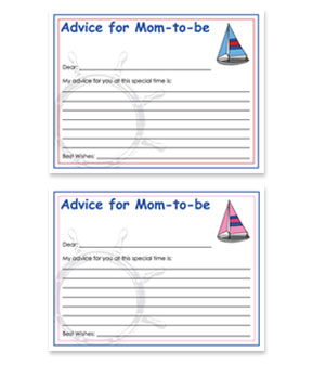 picture relating to Free Printable Nautical Baby Shower Games called Nautical Topic Free of charge Kid Shower Assistance for Mother Card
