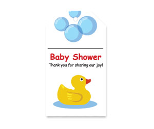 Free Printable Baby Shower Thank You Tags