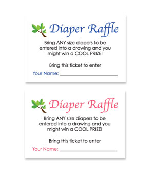 photo regarding Diaper Raffle Tickets Free Printable referred to as No cost Printable Child Shower Diaper Raffle Tickets