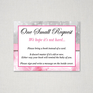 Free Printable Baby Shower Bring Book Instead Of Card