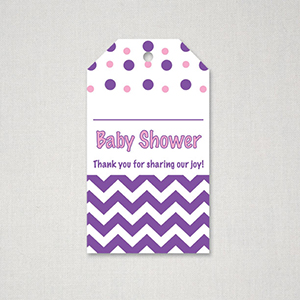 photograph relating to Free Printable Baby Shower Thank You Tags referred to as Totally free Red and Purple Topic Child Shower Thank On your own Tag