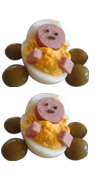 Deviled egg carriage