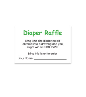 printable raffle ticket