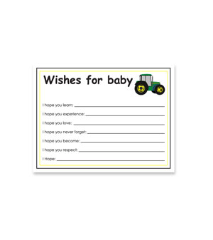 Tractor Wish Card
