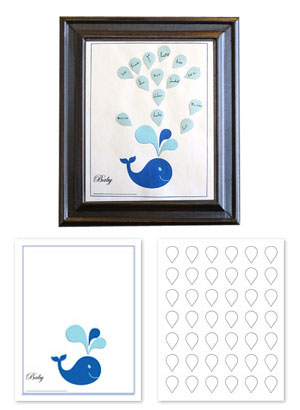image relating to Free Printable Baby Shower Guest Sign in Sheet identified as Cost-free Printable Kid Shower Visitor Publications